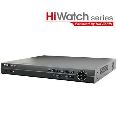HIKVISION 16ch HiWatch series 4-in-1 NVR, built-in 16 port PoE switch