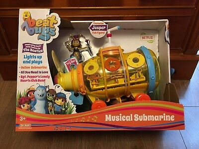 BEAT BUGS MUSICAL Submarine Playset Inspired By The Beatles! Brand ...