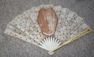 Late 19th Century French Ladies Fan