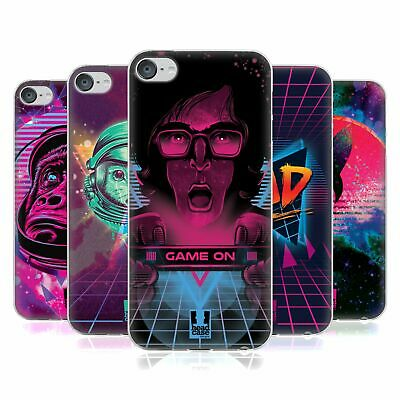 HEAD CASE DESIGNS THE 80'S GRAPHIC VIBES SOFT GEL CASE FOR APPLE iPOD TOUCH MP3