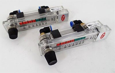 "2 New Dwyer Rate-Master Flow Meter Series RMA-24-SSV 2"" Scale"