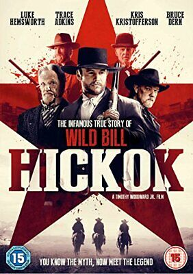 Hickok [DVD] [2018] - DVD  DFVG The Cheap Fast Free Post