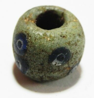 Zurqieh - As4568- Ancient Egypt, Roman Mosaic Glass Eye Bead. 200 A.d