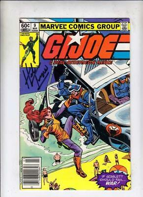 G.I. Joe signed 9 strict VF/NM Signed by Herb Trimpe This book has a certificate