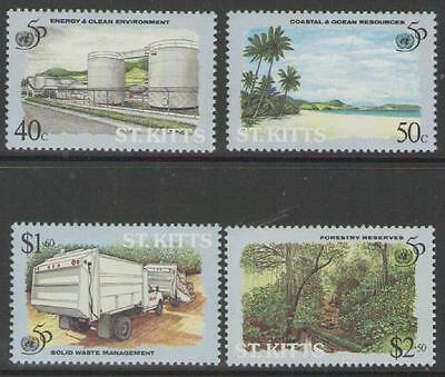 ST.KITTS SG444/7 1995 50th ANNIV OF UNITED NATIONS MNH