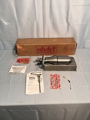 "NEW Ididit 1120120010 12"" Shorty Tilt Floor Paintable Shift Steering Column"