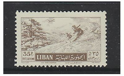 Lebanon - 1955, 35p Air stamp - L/M - SG 523