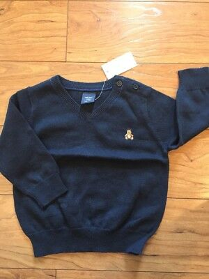 Baby Gap 6 12 Mo Boy Navy Blue V Neck Sweater Pictures Holiday