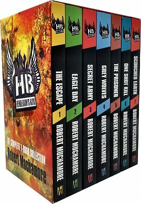 Hendersons Boys 7 Books Collection Box Set Pack by Robert Muchamore The Escape..