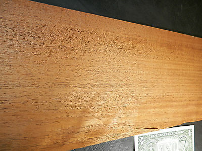 Big Leaf Mahogany Wood Veneer Sheets  6.5 X 30 1/42nd     4730-14