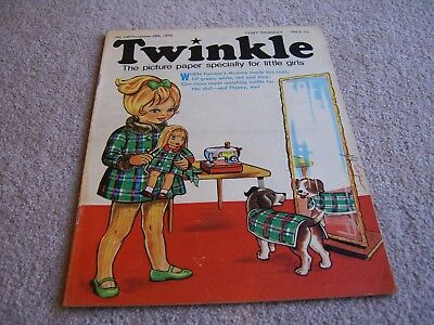 #149 1970 28th November Twinkle comic, The Picture Paper for Little Girls