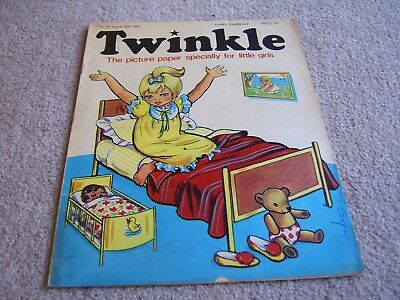 #84 1969 30th Aug' Twinkle comic, The Picture Paper for Little Girls