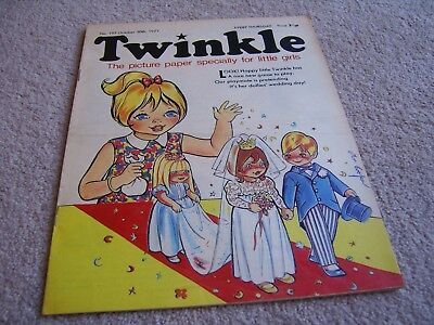 #197 1971 30th October Twinkle comic, The Picture Paper for Little Girls