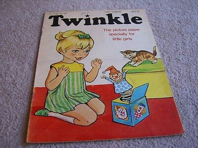#69 1969 17th May Twinkle comic, The Picture Paper for Little Girls