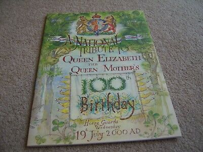 2000 A National Tribute to The Queen Mother's 100th Birthday programme