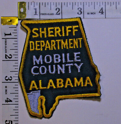 Mobile County Alabama Sheriff Department Shoulder Patch