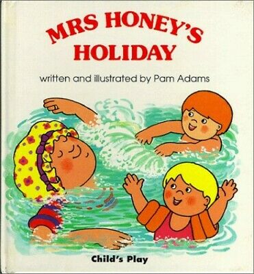 Mrs. Honey's Holiday (Early Reading) by Adams, Pam Hardback Book The Cheap Fast