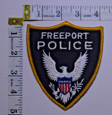 Freeport Maine Police Department Shoulder Patch