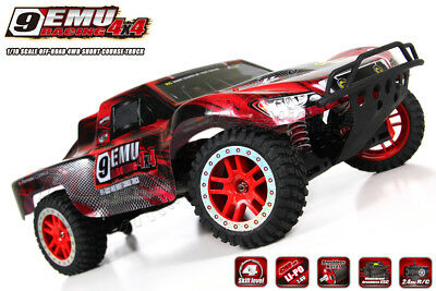 New 2018 Remo Hobby 2.4G 1/8 Scale 4WD Brushless Short Course Truck 9EMU #8025