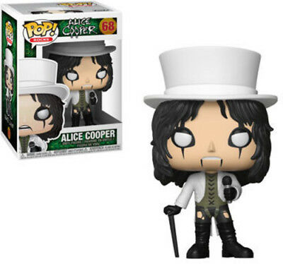 FUNKO POP! ROCKS: Alice Cooper [New Toy] Vinyl Figure