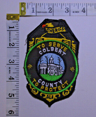 Colbert County Alabama Sheriff Department Shoulder Patch