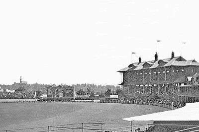 Melbourne MCG JOLIMONT 1915 Grandstand modern digital Photo Postcard