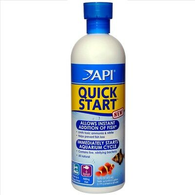 API Quick Start 473ml for a new tank Quickstart Cycle