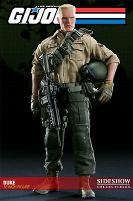 G.i.joe Duke 12-Inch Figur Sideshow Collectibles Neu & Ovp Gi Joe