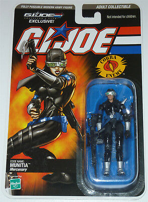 G.i.joe 2009 Munitia Moc Neu & Ovp Gi Joe Cobra Club Exclusive Limited