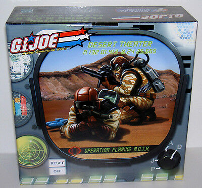 G.i.joe 2006 Desert Theater Flak & Range-Viper 2-Pack Mib Neu & Ovp Gi Joe Cobra