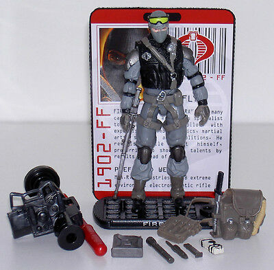 G.i.joe 2009 Rise Of Cobra Firefly Lose + 100% Komplett Top Zustand Gi Joe