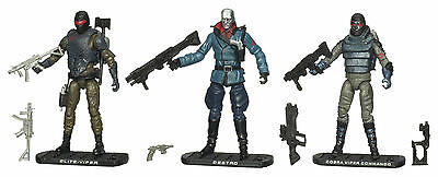 G.i.joe 2009 Rise Of Cobra Senior Ranking Officers Cobra Set Lose 100% Komplett