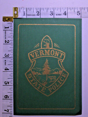 Vermont State Police Special Envelope/shoulder Patch