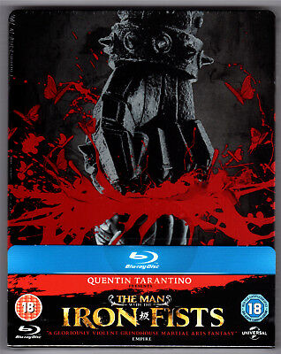 The Man With The Iron Fists Unrated Blu-Ray Steelbook Neu & Ovp Deutscher Ton