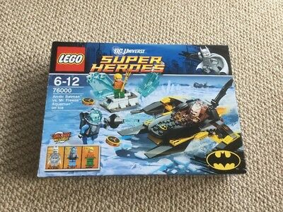 NEW LEGO DC Universe Super Heroes Arctic Batman vs Mr Freeze Aquaman ...