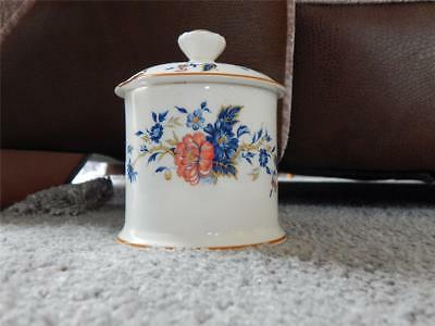 Crown Staffordshire Penang Lidded jam or honey Pot. Excellent condition
