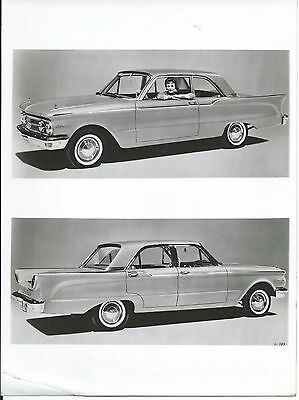 Ford Comet 1960 Original Press Photograph Pretty Girl Driving Excellent
