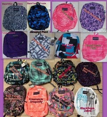 Wholesale Lot of 46 JANSPORT Student Backpacks New Tags MSRP $48