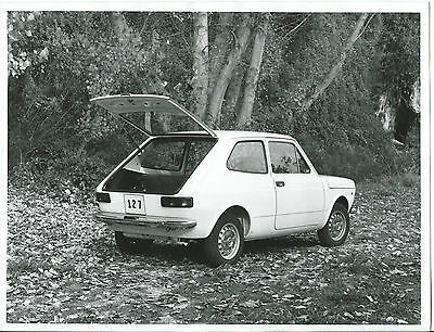 "Seat 127 Fiat  Original Press Photograph Foto 24cm x 18cm ""In the Woods"""