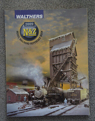 2009 WALTHERS Model Train Accessory Scale N & Z Product Reference CATALOGUE Book