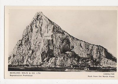 Gibraltar Rock From North Front RP Postcard 260a