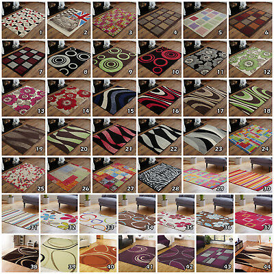 Clearance Sale Discount Modern Multi New Large Small Cheap Budget Floor Rugs Mat