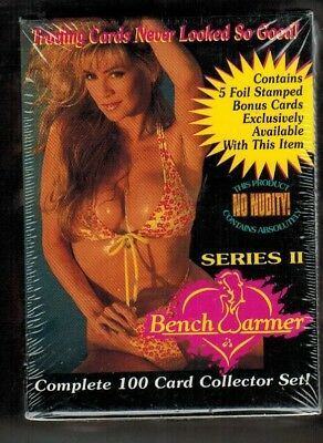 1994 Bench Warmer Series II Factory Set - 100 Cards - Plus 5 Bonus Cards