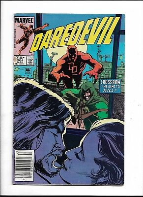 Marvel Comics Daredevil # 204, March 1984 !!