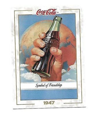 Coca Cola Collection (1993) 1947 # 50 SYMBOL OF FRIENDSHIP Foreign MArkets