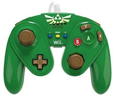 PDP Wired Fight Pad: Link for Nintendo WiiU
