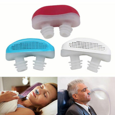 Snoring Device Anti Snore Apnea CPAP Patent Nose Ventilation Nasal Congest PM2.5
