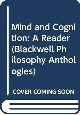 Mind and Cognition: A Reader (Blackwell Philosophy Anthologies) Paperback Book