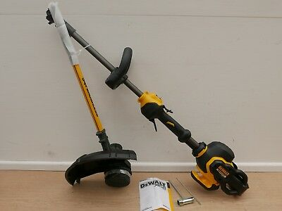 Dewalt 54V Xr Dcm5713 38Cm Split Shaft Garden String Line Strimmer Bare Unit