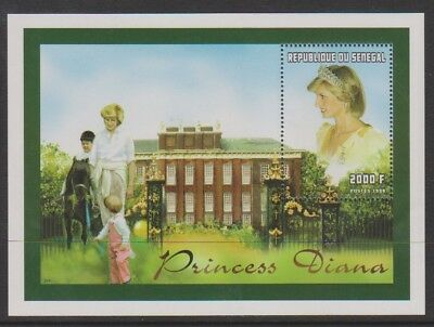 Senegal - 1998, Diana, Princess of Wales sheet - MNH - SG MS1509e